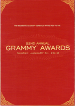 Grammy Invitation 2008