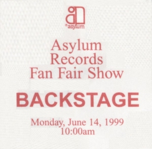 Neal's Fan Fair Backstage Pass